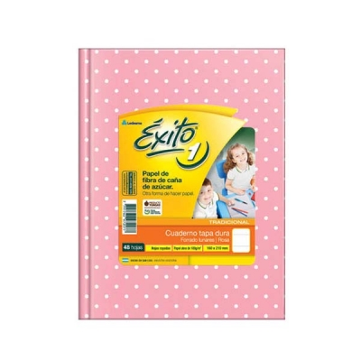Cuaderno T/d 16x21 Exito 48 Hj Ry  L/rs